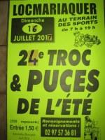 LOCMARIAQUER - 24 ème édition TROC et PUCES GEANT DE L'ETE