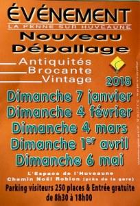 Déballage Antiquité-Brocante La Penne-sur-Huveaune ça continu