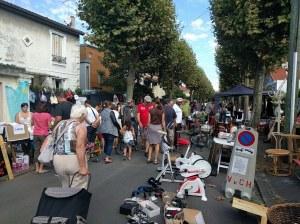 Vide-greniers de la rue Charles Infroit-Quartier Polangis