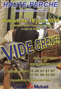 VIDE GRENIER D'HAUTE-PERCHE
