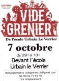 Vide Grenier de l'école Urbain Le Verrier