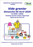 Vide grenier International rezé football
