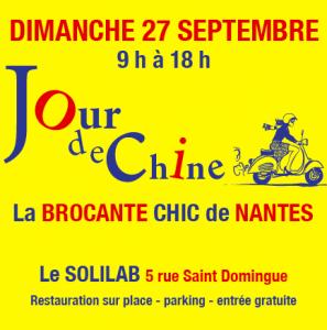 Jour de chine, la belle brocante de Nantes