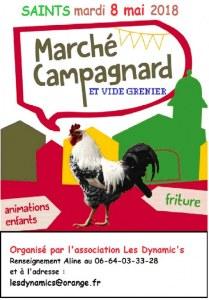 Marché Campagnard et Vide Grenier de Saints