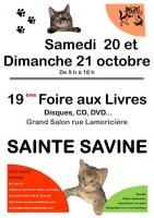 19 ème Foire aux Livres, disques, CD, DVD