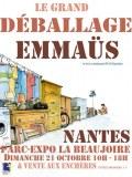 Grand deballage EMMAUS