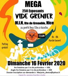 Mega Vide grenier Marche au MIN Nice à Nice