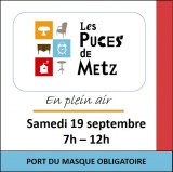 Puces de Metz en plein air du 19 septembre