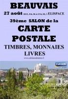 39ème SALON de la CARTE POSTALE, TIMBRES, MONNAIES, LIVRES