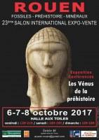 23éme Salon Inernational de Rouen Fossiles, Préhistoire, Minéraux et bijoux