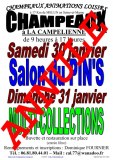 Salon du Pin's le 30/01/2021 à CHAMPEAUX (77) - ANNULÉ