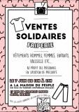 Vente solidaire - Friperie