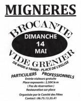 22eme Brocante Vide-Greniers - MIGNERES