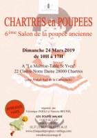 """6ème Salon de la Poupée ancienne """"Chartres en Poupées 2019"""""""