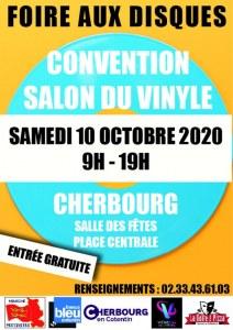 FOIRE AUX DISQUES / CONVENTION SALON DU VINYLE CHERBOURG salle des fêtes - place centrale
