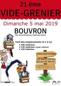 21è vide-grenier de Bouvron