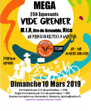Vide grenier Couvert - Marche au MIN – 250 places