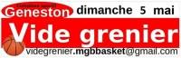 Vide grenier couvert du MGB Basket