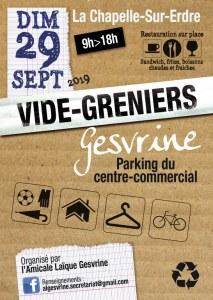 Vide Greniers - Quartier Gesvrine - La Chapelle sur Erdre