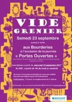 Vide grenier des Bourderies, rue de Saint-Brévin, Nantes