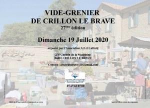 27ème vide grenier de Crillon le Brave