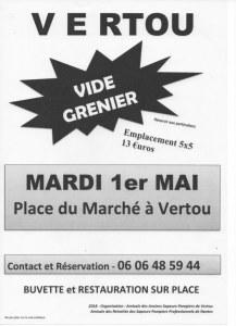 Vide grenier des Anciens Pompiers de Vertou et de Nantes