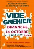 Vide grenier école Saint Michel