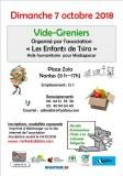 Vide-greniers Association les enfants de Tsiro