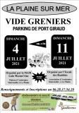 VIDE GRENIERS PORT GIRAUD