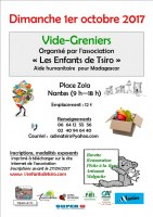 Vide-greniers des Enfants de Tsiro