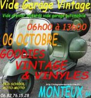 Vide Garage Mécanique Vintage 07 Octobre à Monteux